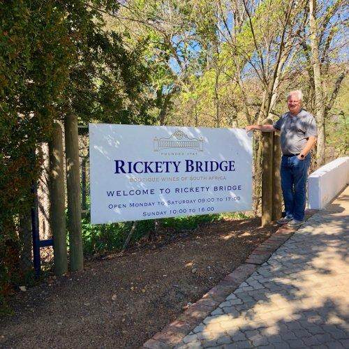 Entrance to Rickety Bridge. Pssst, that bridge isn't so rickety anymore...