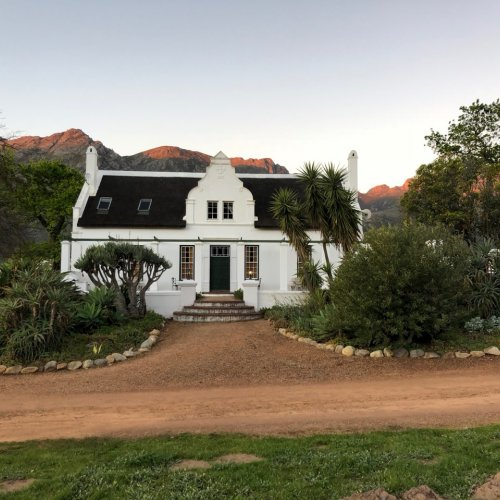 The Manor House at Rickety Bridge Winery in Franschhoek.