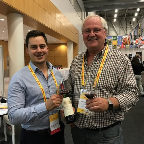 Cape Wine 2018 - with Renier, winemaker at Leopard's Leap Winery