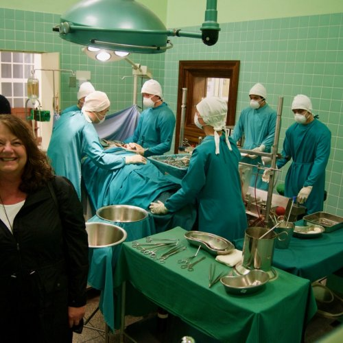 Groote Schuur Hospital - Cape Town - Donor operating room.